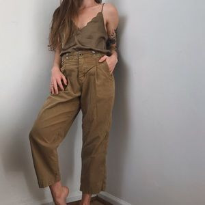 Anthropologie high waisted trousers